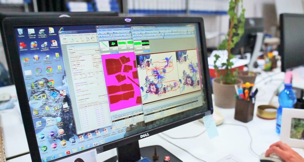 Optitex ha implementato insieme ai responsabili della Roberto Cavalli una soluzione specifica chiamata Printed Fabric, capace di ottimizzare il processo di progettazione di capi con tessuti stampati