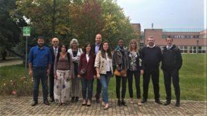 Foto di gruppo relativa all'ultimo incontro dei partner del progetto avvenuto in Biella lo scorso 3 ottobre