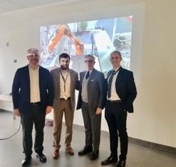 Antia e Kuka AG insieme per una start up di sperimentazione robotica collaborativa nel settore T/A