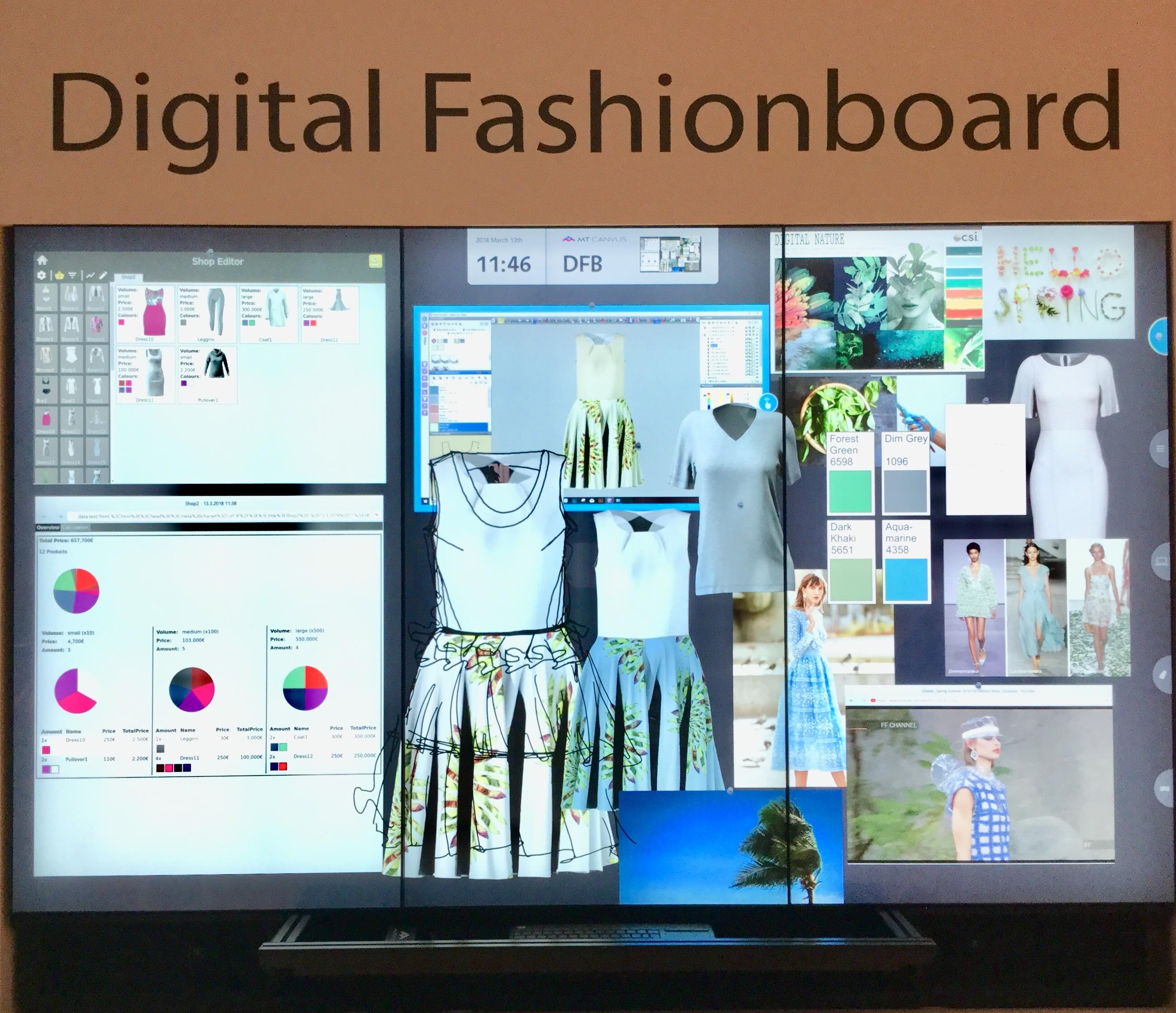 Digital Fashionboard - Assyst