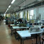 produzione di abbigliamento