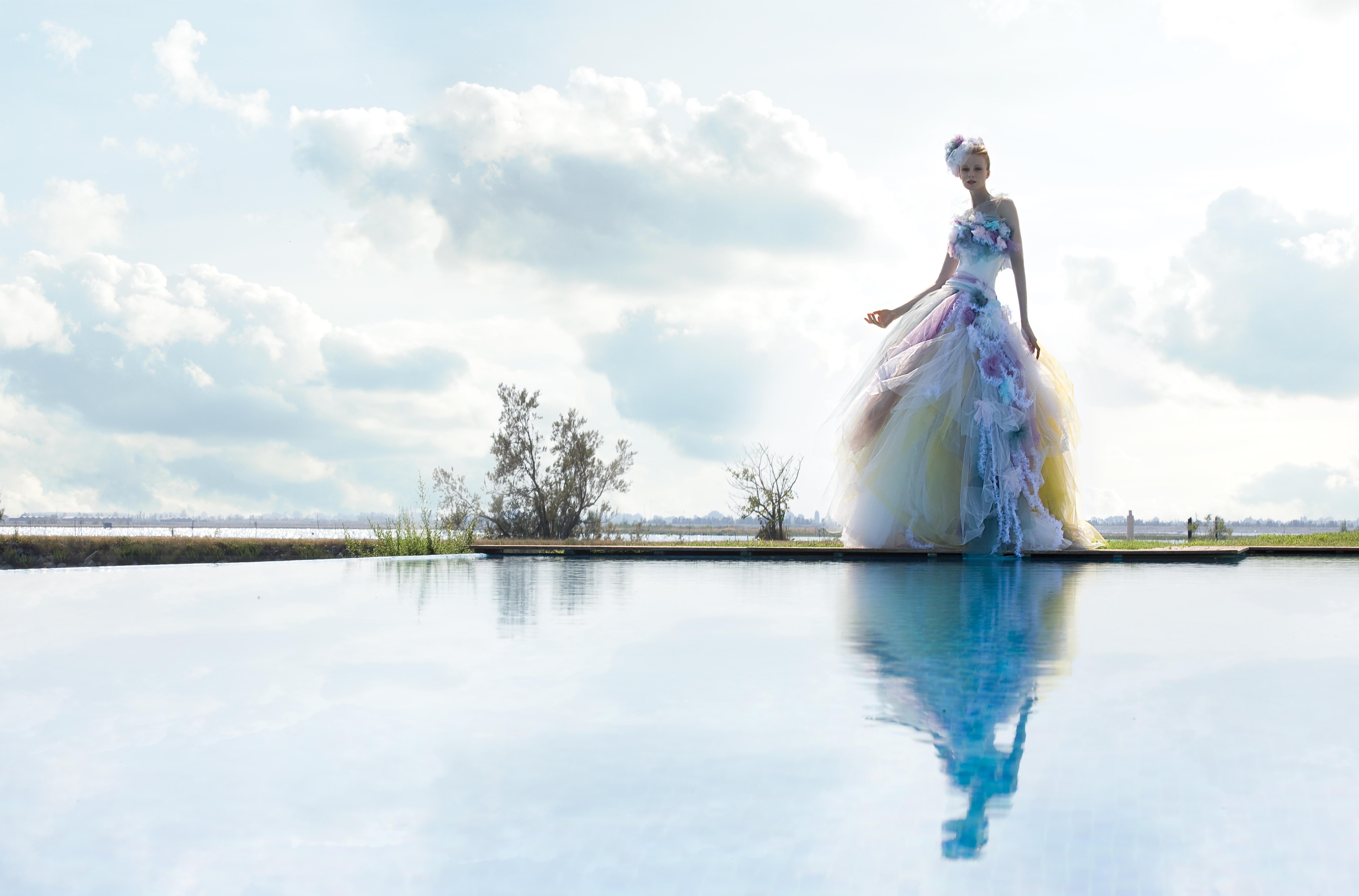 Elisabetta Polignano - dal capo al modello